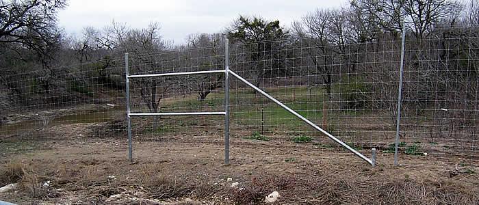 Deer Fence Construction